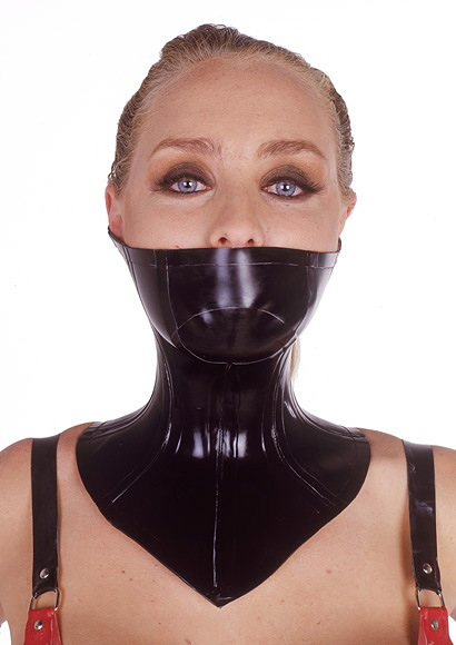 Latex posture collar
